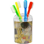 The Kiss (Klimt) - Lovers Toothbrush Holder