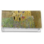 The Kiss (Klimt) - Lovers Vinyl Checkbook Cover