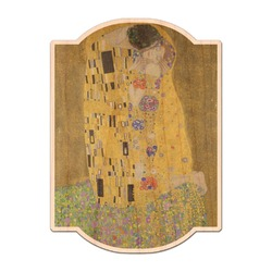 The Kiss (Klimt) - Lovers Genuine Maple or Cherry Wood Sticker