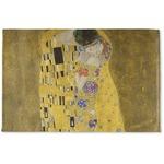 The Kiss (Klimt) - Lovers Woven Mat