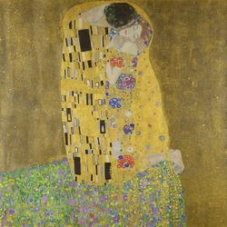The Kiss (Klimt) - Lovers
