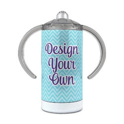Design Your Own 12 oz Stainless Steel Sippy Cup