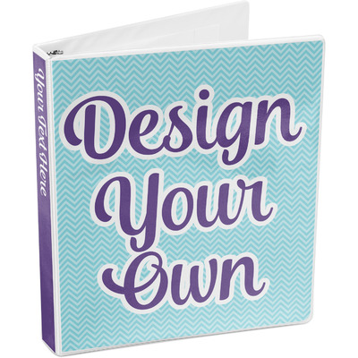 Design Your Own Personalized 3-Ring Binder