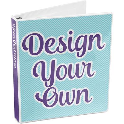 Design Your Own 3-Ring Binder