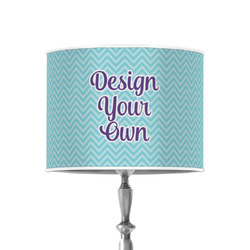 """Design Your Own 8"""" Drum Lamp Shade - Poly-film"""