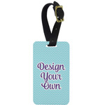 Design Your Own Aluminum Luggage Tag