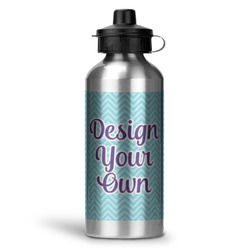 Design Your Own Water Bottle - Aluminum - 20 oz (Personalized)
