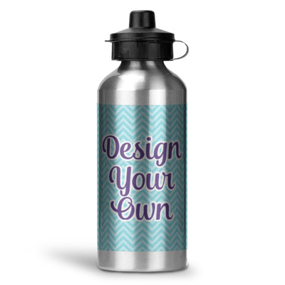 Design Your Own Personalized Water Bottle - Aluminum - 20 oz