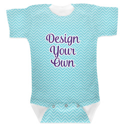 Design Your Own Baby Bodysuit 0-3 (Personalized)