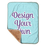 "Design Your Own Sherpa Baby Blanket 30"" x 40"" (Personalized)"