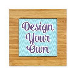 Design Your Own Bamboo Trivet with Ceramic Tile Insert