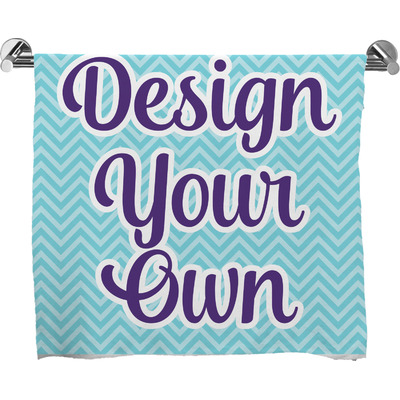 Design Your Own Personalized Full Print Bath Towel