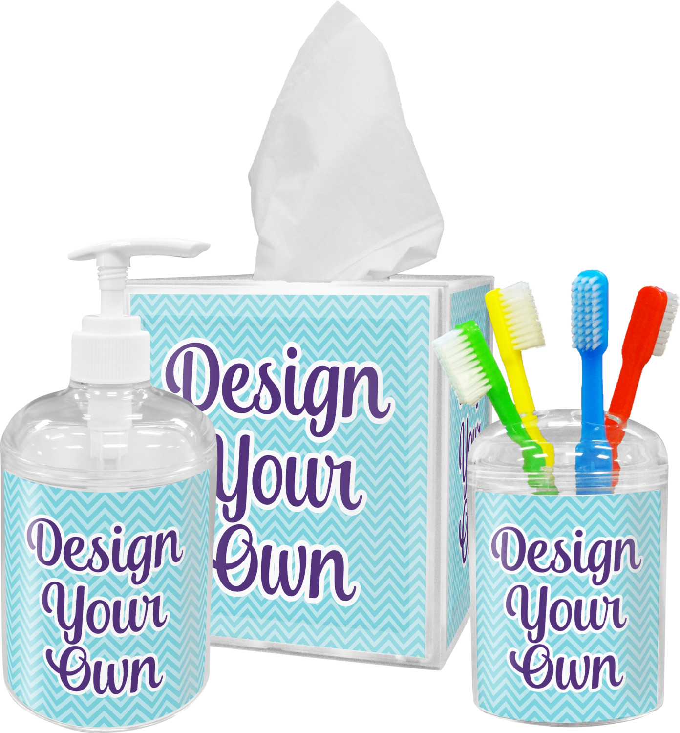 Design your own bathroom accessories set personalized you customize it Make your own bathroom design
