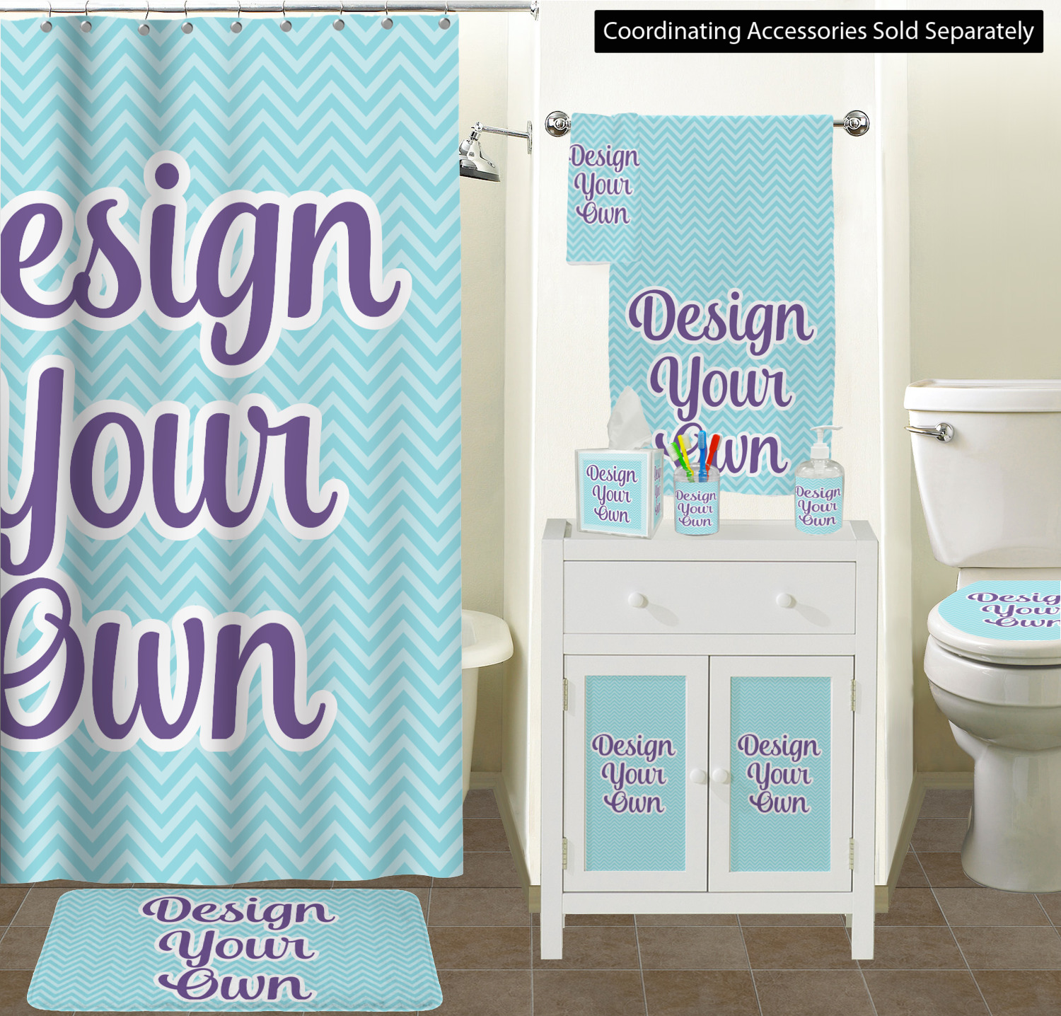 Design Your Own Bathroom Layout: Design Your Own Toilet Seat Decal