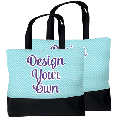 Design Your Own Beach Tote Bag