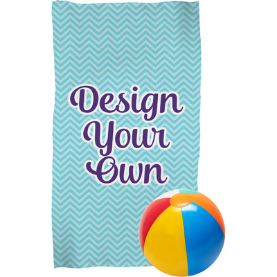 Design Your Own Personalized Beach Towel