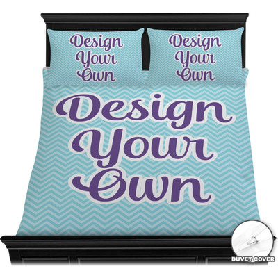 Design Your Own Personalized Duvet Cover Set