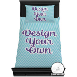 Design Your Own Duvet Cover Set - Twin (Personalized)
