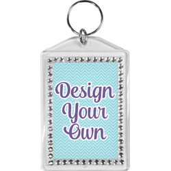 Design Your Own Bling Keychain (Personalized)