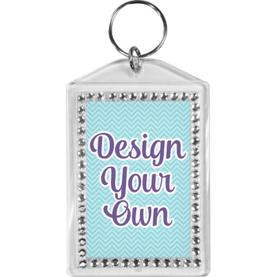 Design Your Own Personalized Bling Keychain