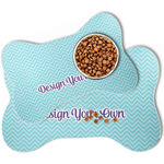 Design Your Own Bone Shaped Dog Food Mat