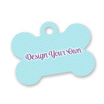 Design Your Own Bone Shaped Dog Tag (Personalized)