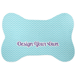 Design Your Own Bone Shaped Dog Food Mat (Personalized)