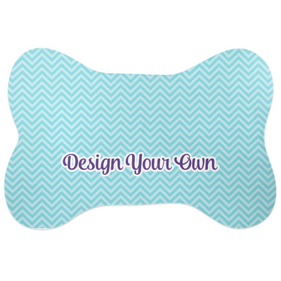 Design Your Own Personalized Bone Shaped Dog Food Mat