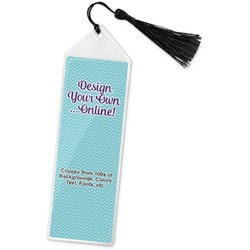 Design Your Own Book Mark w/Tassel (Personalized)