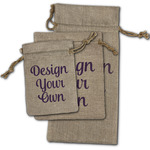 Design Your Own Burlap Gift Bags