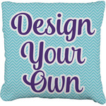 Design Your Own Faux-Linen Throw Pillow (Personalized)