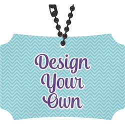 Design Your Own Rear View Mirror Ornament (Personalized)