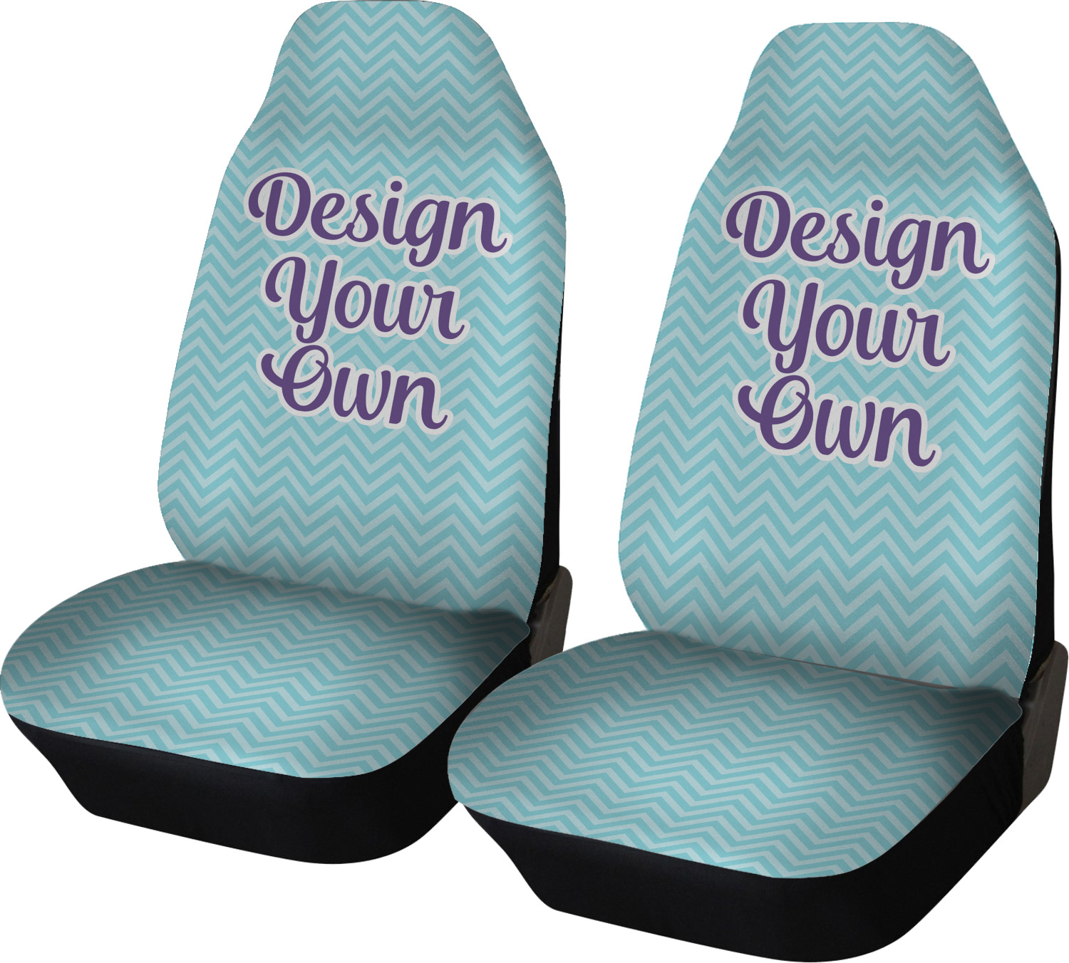Outstanding Design Your Own Personalized Car Seat Covers Set Of Two Theyellowbook Wood Chair Design Ideas Theyellowbookinfo