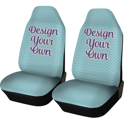 Personalized Car Seat Covers Set Of Two Youcustomizeit