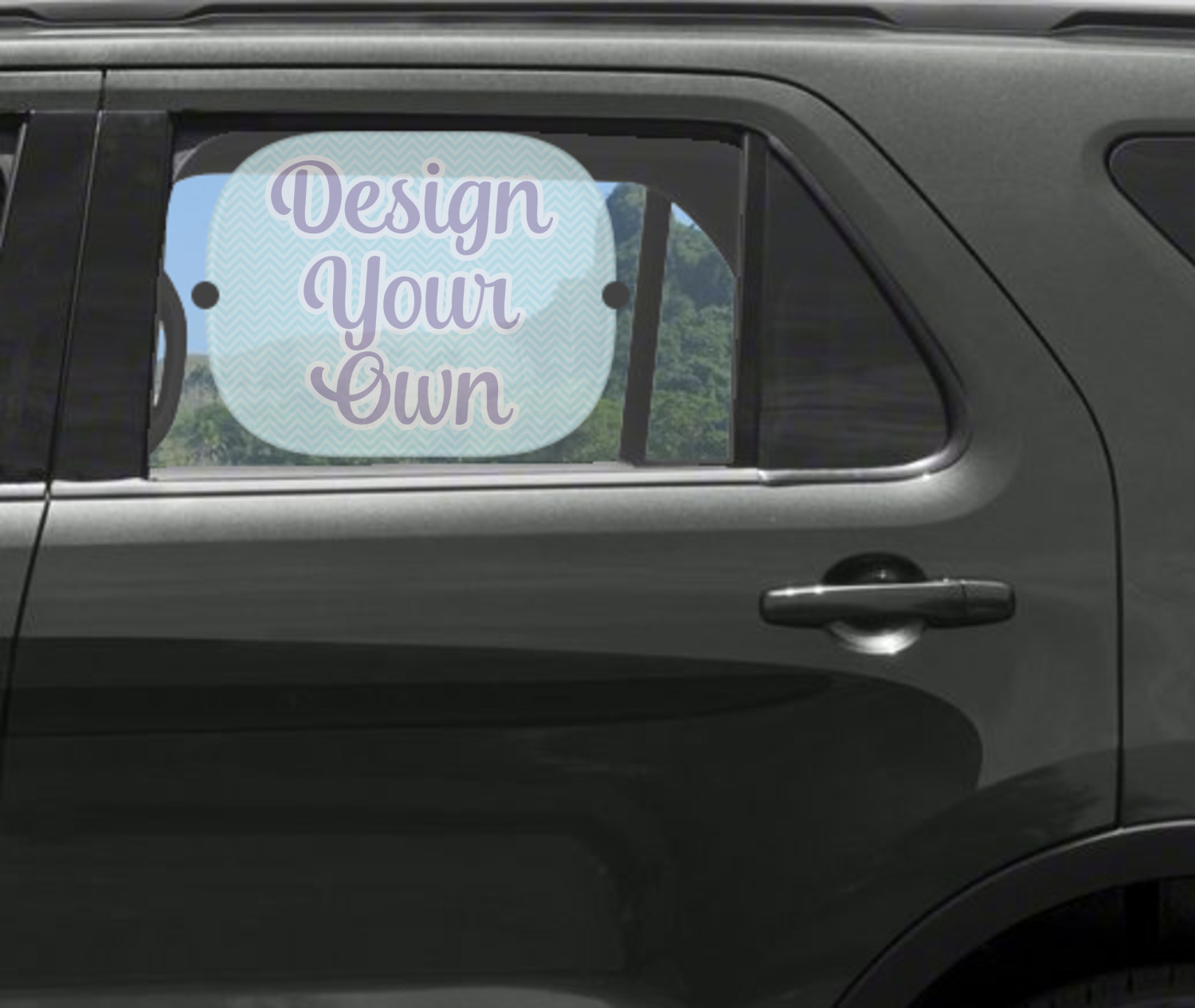 Design Your Own Car Side Window Sun Shade Personalized