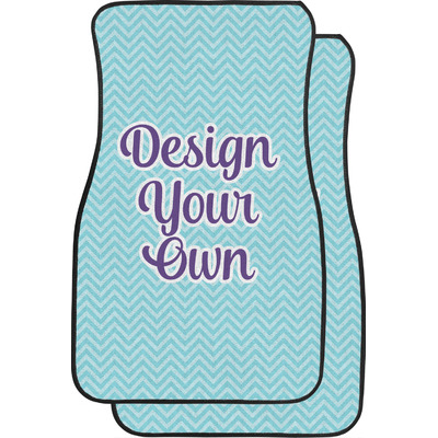 Design Your Own Personalized Car Floor Mats (Front Seat)