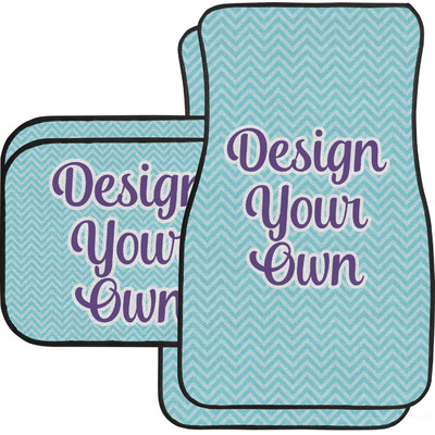 Design Your Own Personalized Car Floor Mats Set - 2 Front & 2 Back