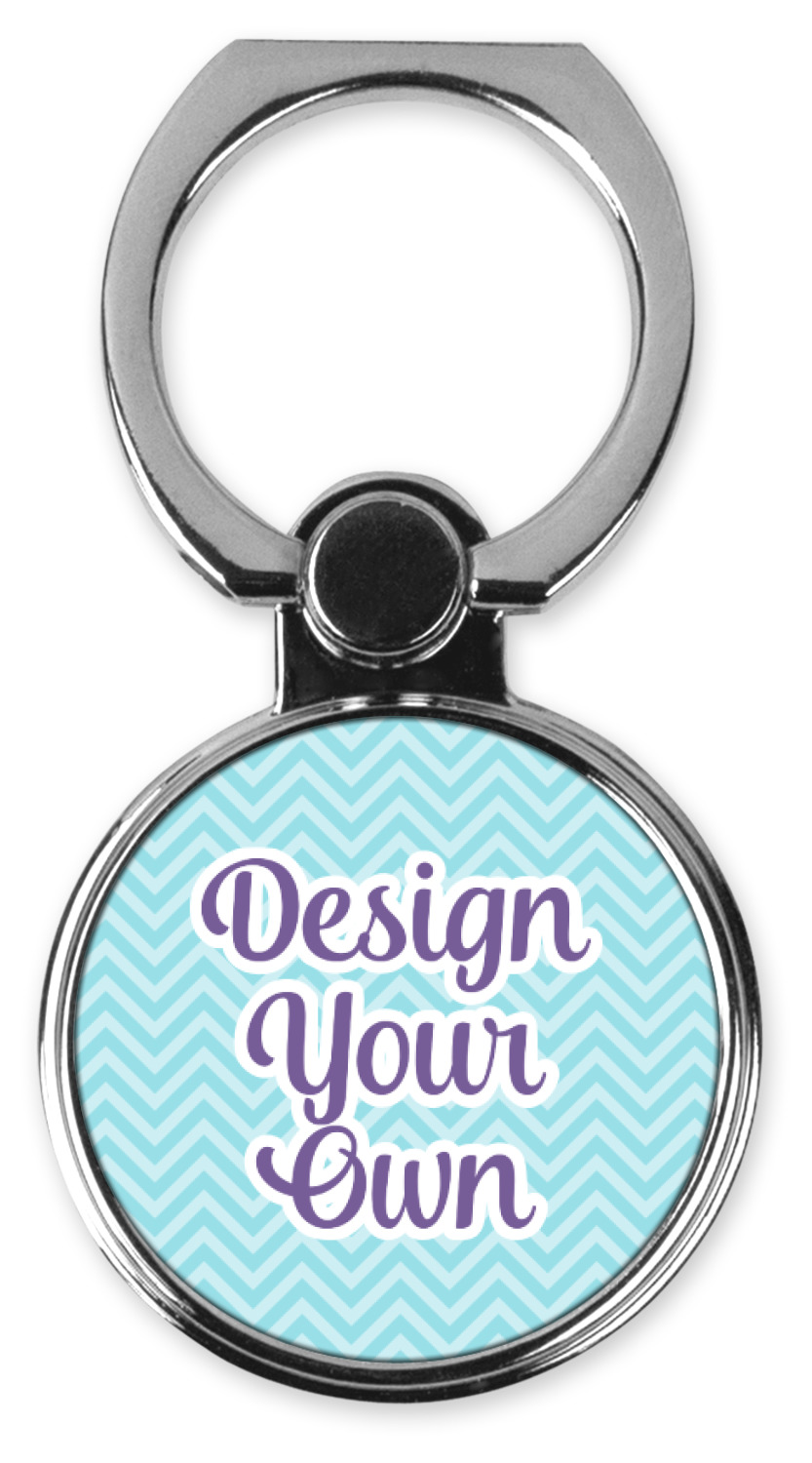 Personalized Photo Ring Cell Phone Holder