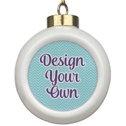Design Your Own Ceramic Ball Ornament