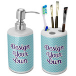 Design Your Own Bathroom Accessories Set (Ceramic) (Personalized)