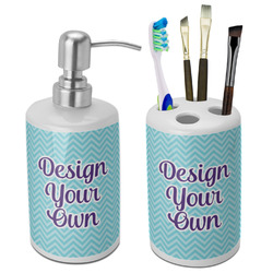 Design Your Own Ceramic Bathroom Accessories Set