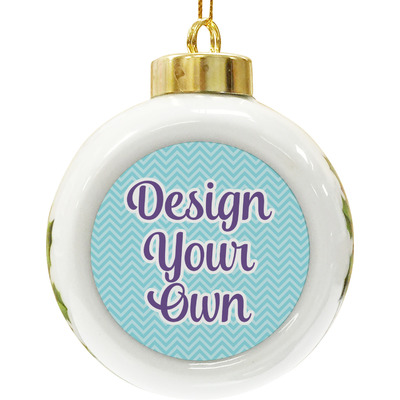 Design Your Own Ceramic Ball Ornament
