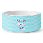 Design Your Own Ceramic Pet Bowl (Personalized)