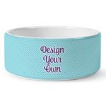 Design Your Own Ceramic Dog Bowl