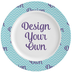 Design Your Own Ceramic Dinner Plates (Set of 4) (Personalized)