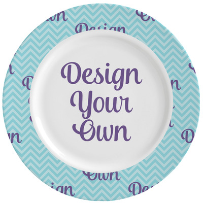 Design Your Own Ceramic Dinner Plates (Set of 4)