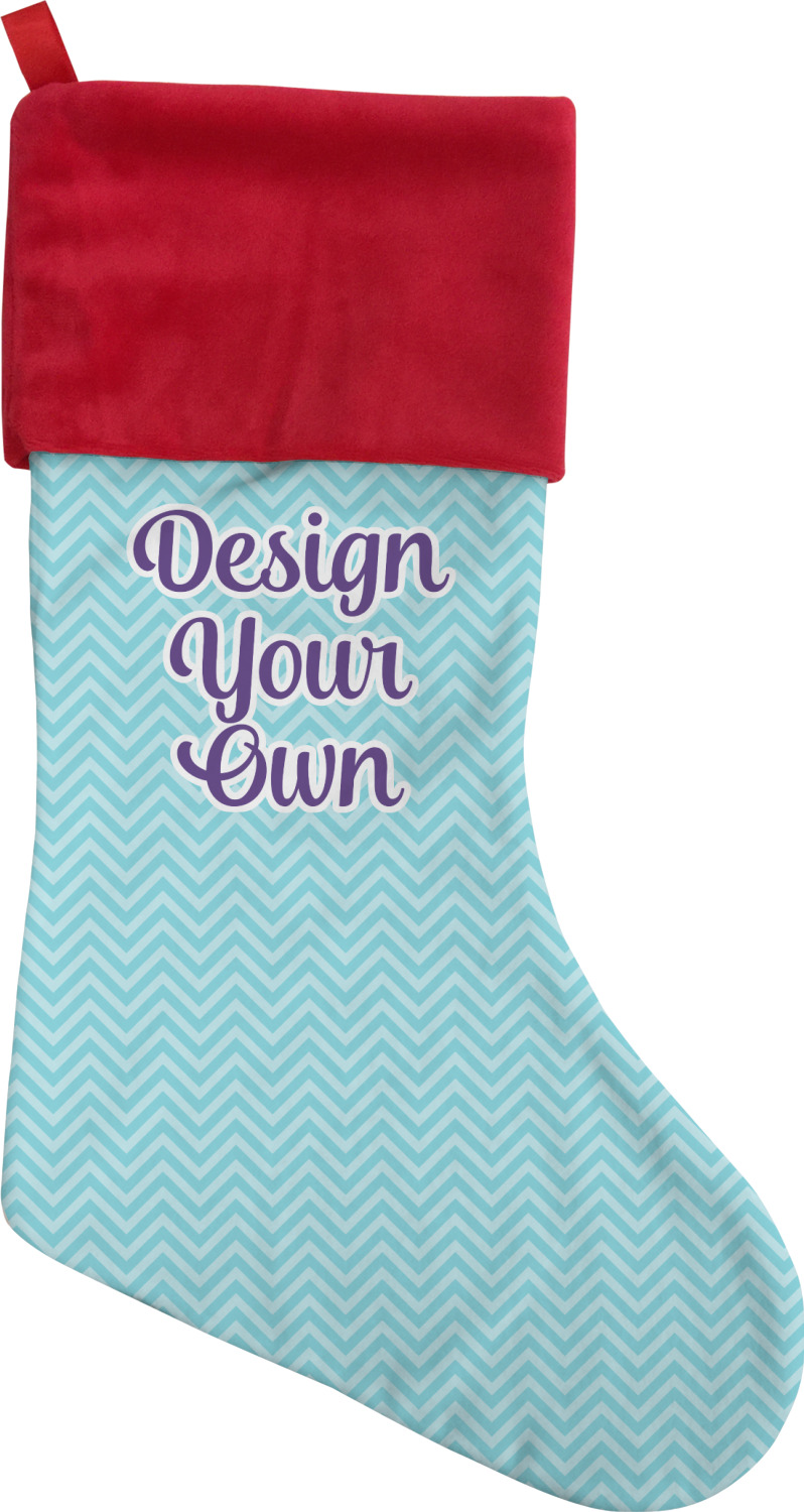 Design Your Own Christmas Stocking Single Sided