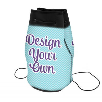 Design Your Own Personalized Neoprene Drawstring Backpack