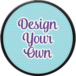 Design Your Own Round Trailer Hitch Cover (Personalized)