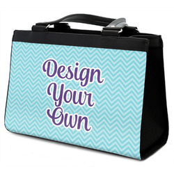 Design Your Own Classic Tote Purse w/ Leather Trim